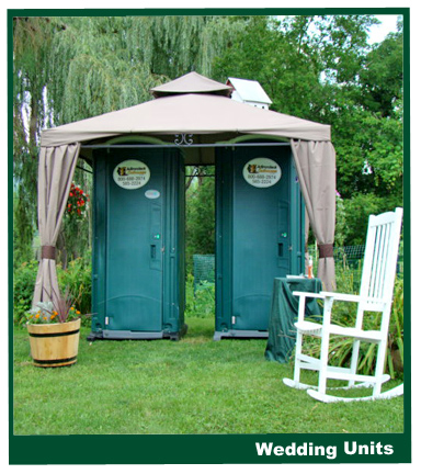 outhouse for wedding